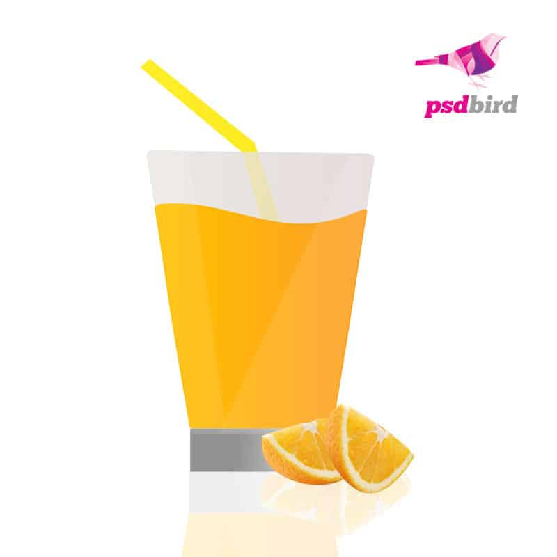 Lemon juice PSD