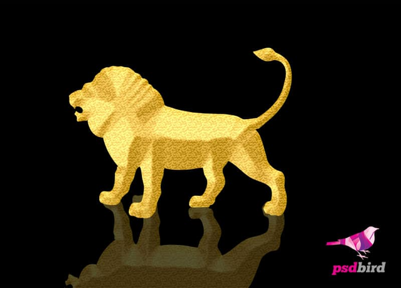 Golden Lion PSD