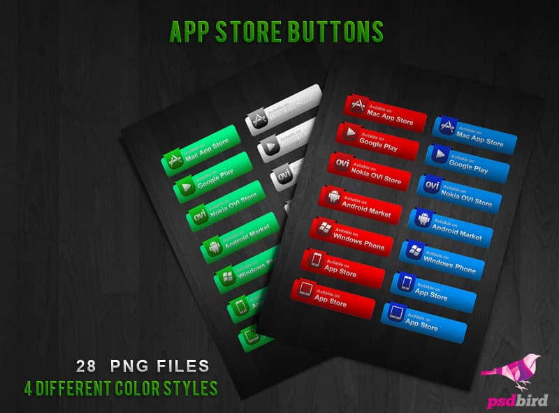 free app store icons