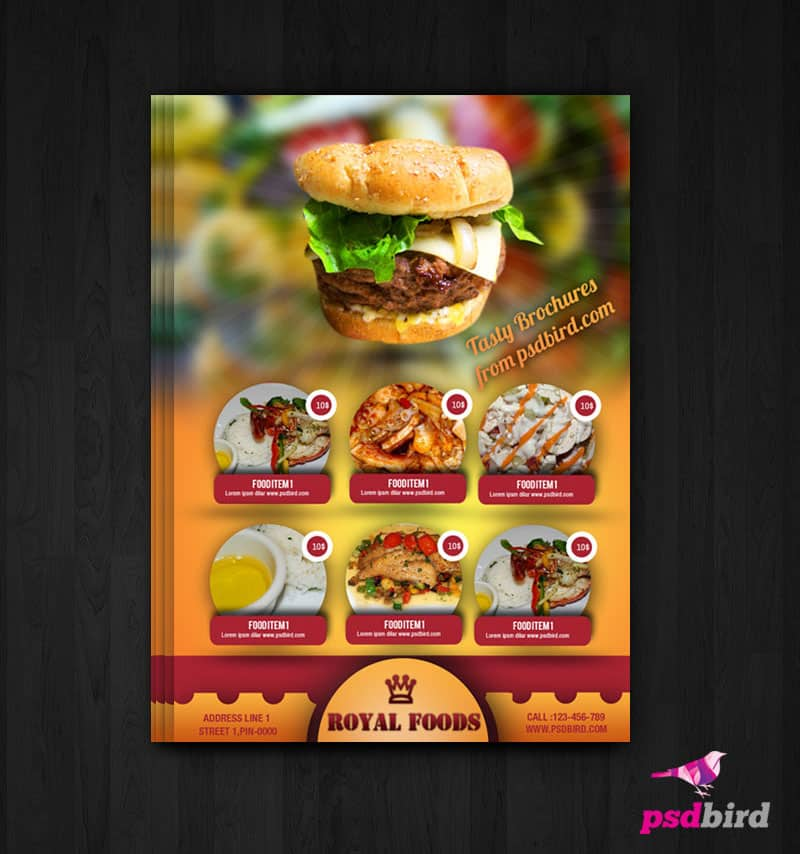 Free hotel menu cardflyer psd pronofoot35fo Choice Image