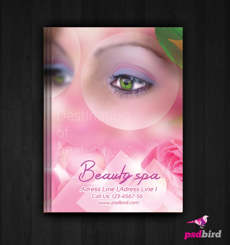 Free Health & Beauty Spa Flyer PSD