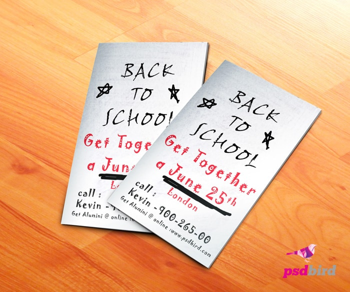 Free Back to School Flyer PSD