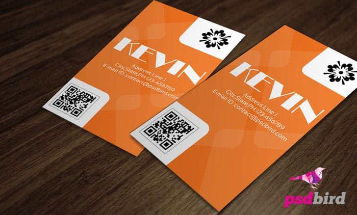 Free Clean & Simple Business Card PSD