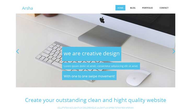 Arsha-template-for-corporate