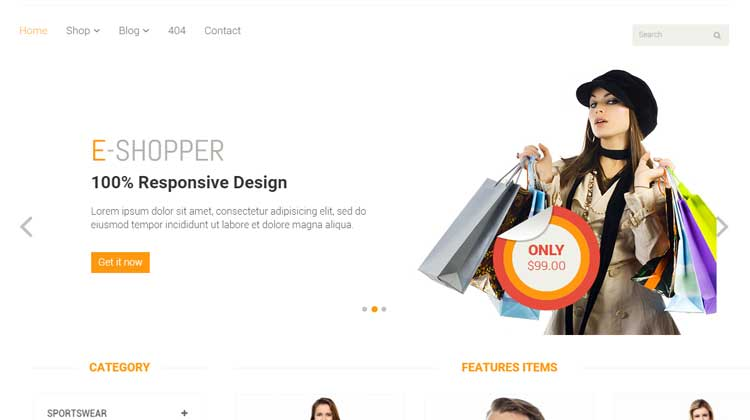 E-Shopper--HTML-Template
