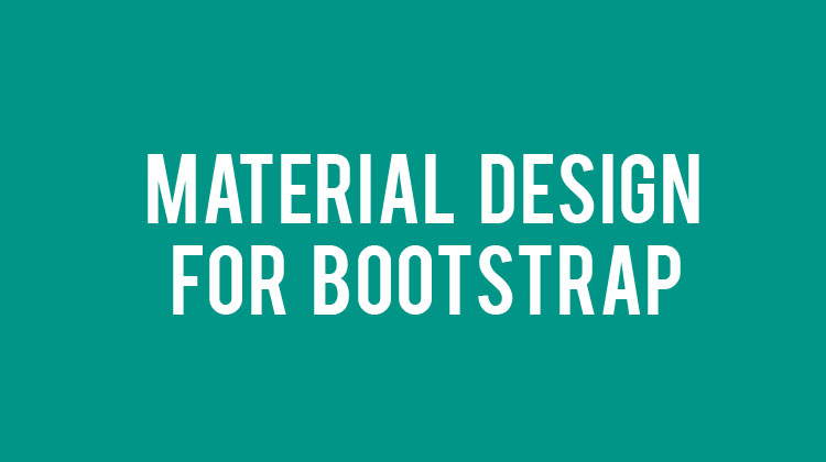 Material-Design-for-Bootstrap