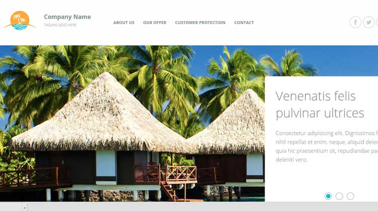 Travel-Agency-Responsive Template