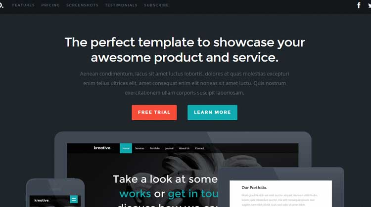 Woo-HTML5-template
