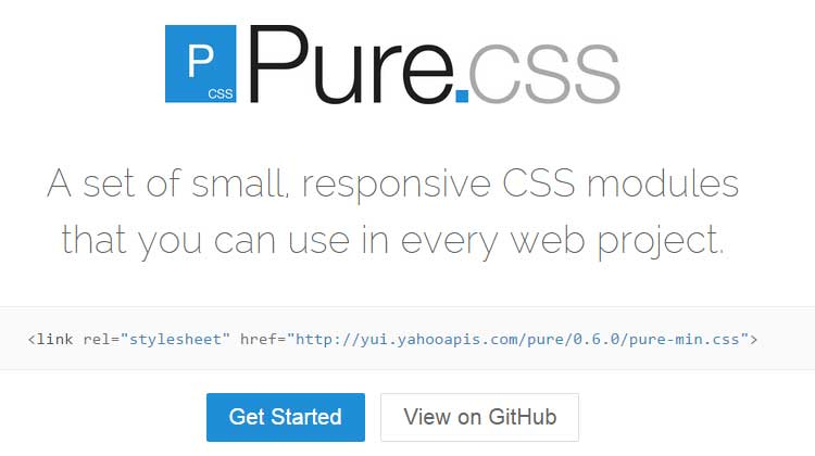 pure-css-frame-work