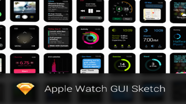 Apple WatchKit GUI