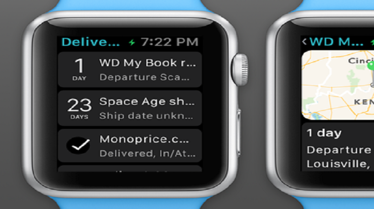 Deliveries for Apple Watch