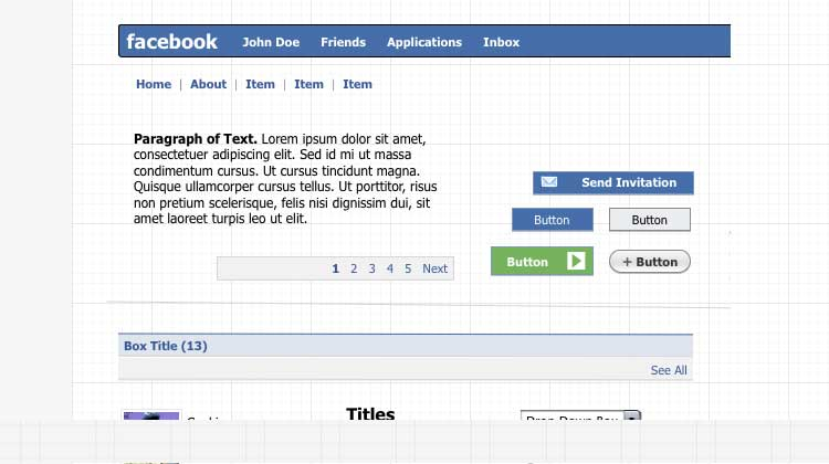 Facebook-Applications-Stencil-Kit