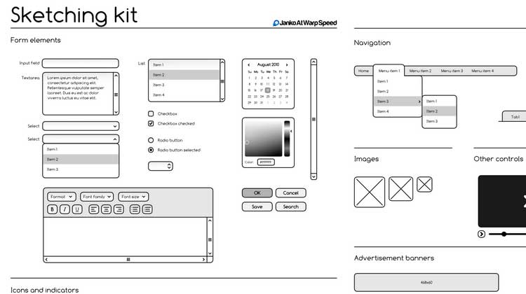 Free-Sketching-&-Wireframing-Kit