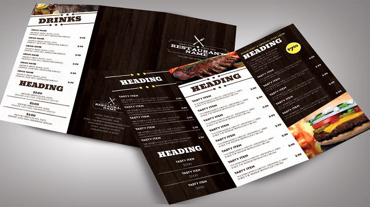 Restaurant menu templates Modern