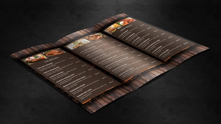 Woodstock Restaurant Menu Template