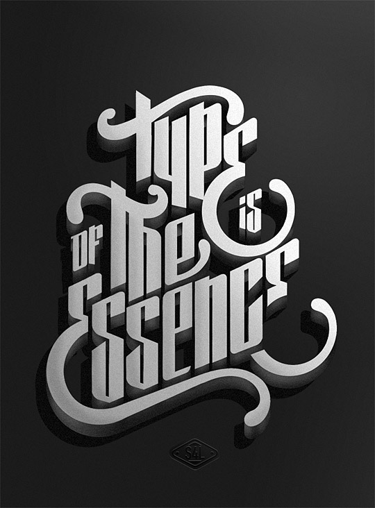 Type is of the essence by Marko Purac