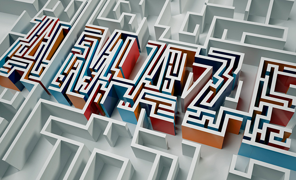 A_maze_typography_by_Elroy_Klee