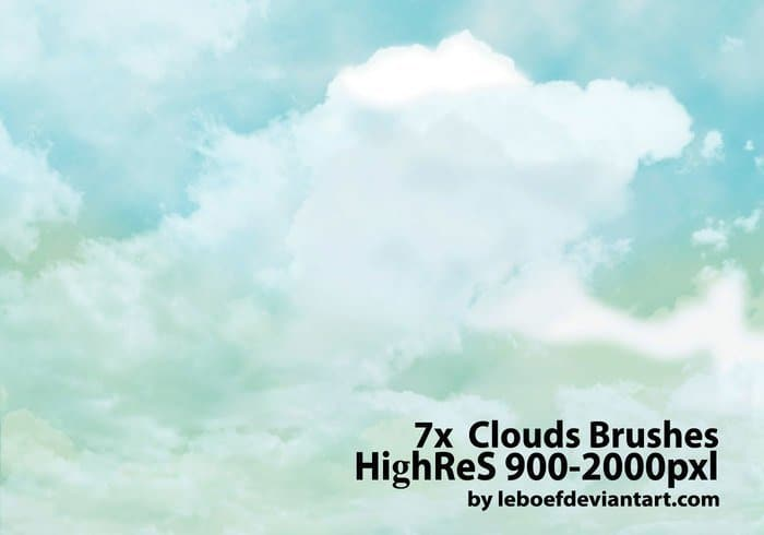 HighRes Cloud Brushes by Leboef
