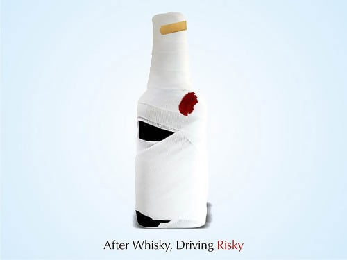After Whisky, Driving Risky