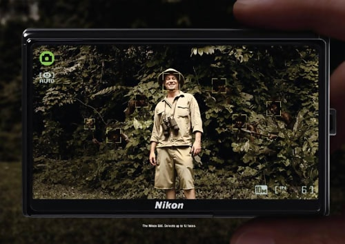Nikon S60: Forest - Advertising Concept Examples