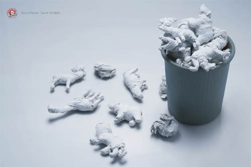 Wildlife SOS Ad - Creative Advertising Ideas