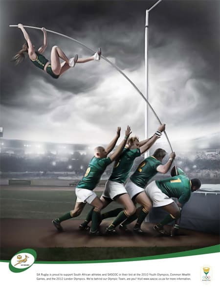 Pole Vault (S.A Rugby) - Commercial Concept