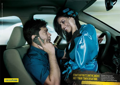 Cellucom Wife - Conceptual Advertising Photography