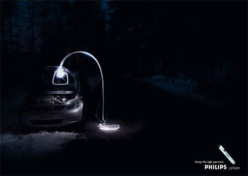 Lightpen (Philips) - Winter Advertising Slogans