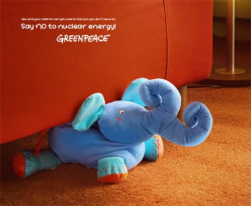Greenpeace Elephant - Conceptual Advertising