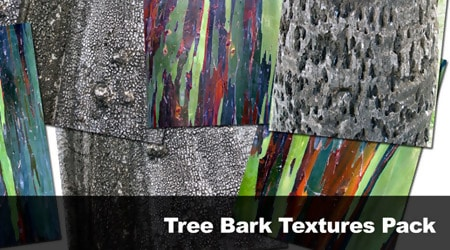 Tree Bark Textures Pack By Leialoha Stock