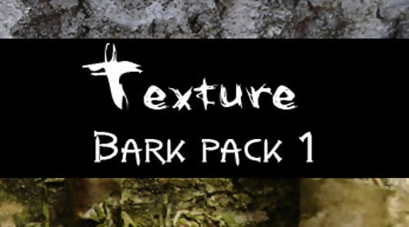Tree Bark Texture Pack 1