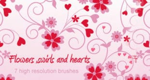 heart brushes photoshop