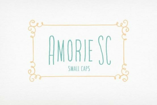 Amorie SC Long Thin Font Family