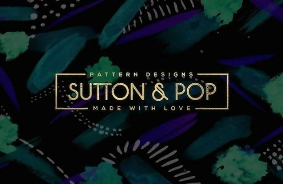 Sutton & Pop Logo