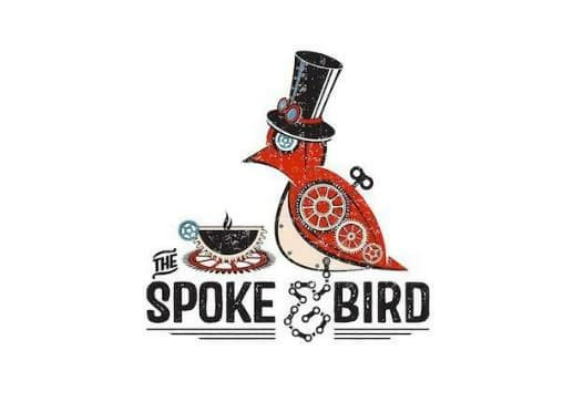 The Spoke Bird Logo with Custom Ampersand