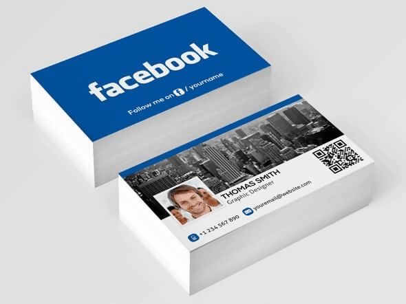 The Facebook Business Card