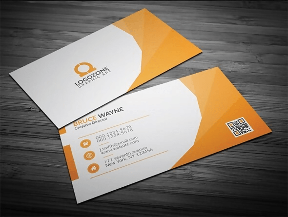 The Orange Corporate Business Card
