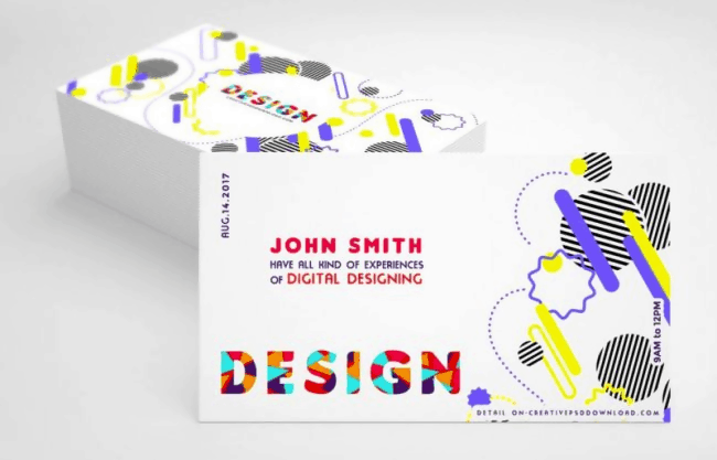 The Creative Design Business Card