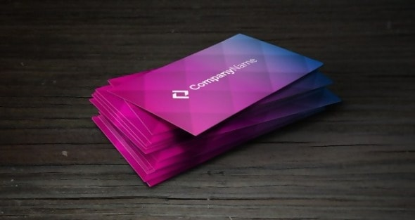 The Colorful Corporate Business Card