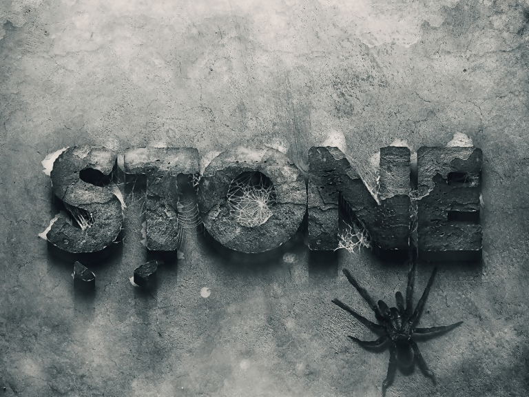 3D Stone Style Effect