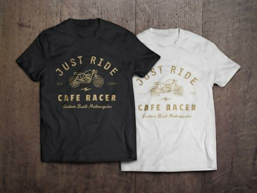 T-Shirt Template Mockup Set By Graphicburger