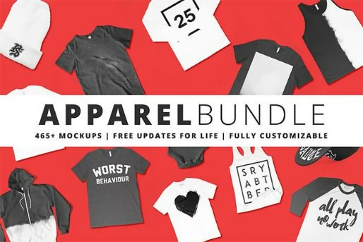 465+ T-Shirt Template Bundle
