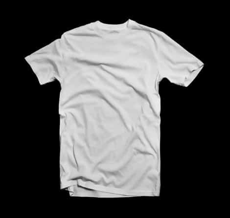 Blank White T-Shirt Template By Angelacevedo