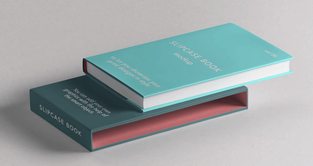 PSD Slipcase Book
