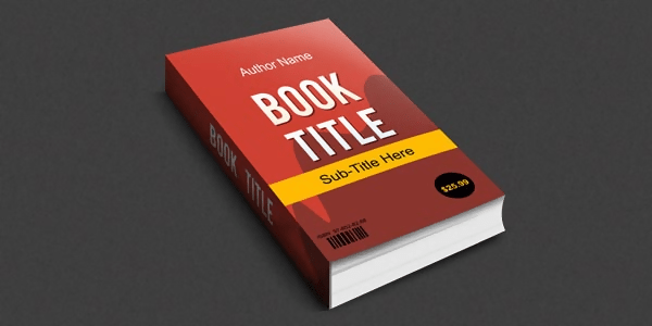 Smart Objects 3D Book Mockup