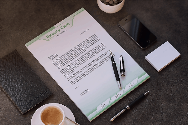 Stationary Letterhead Template