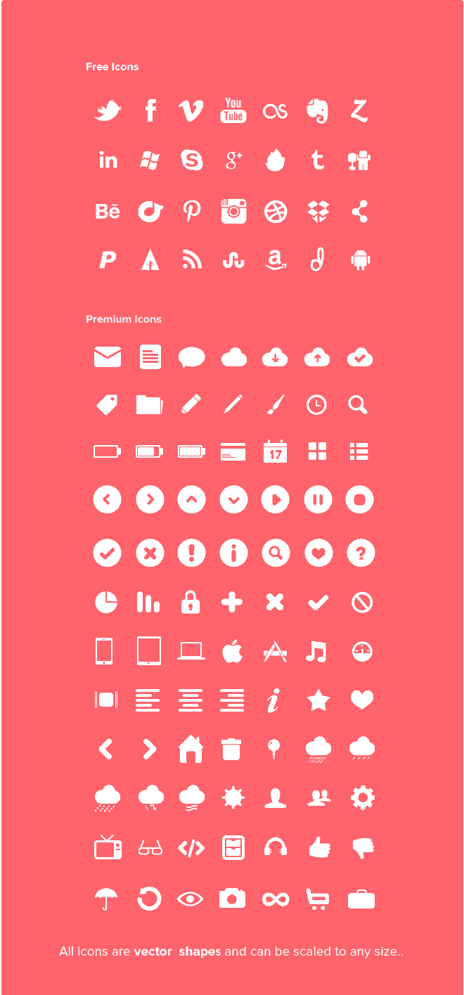 28 Super Awesome Icons