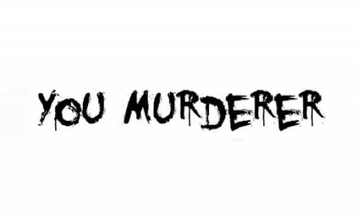 You Murderer BB Zombie Font