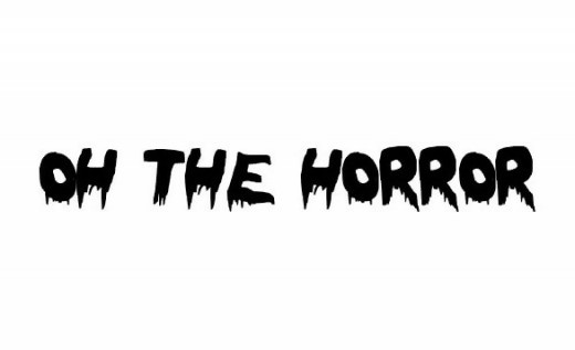 Oh The Horror Zombie Font