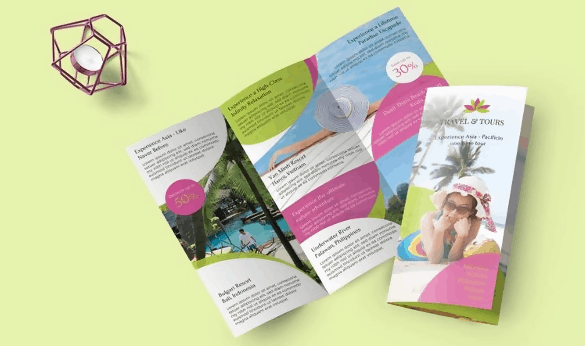Travel and Tour Brochure Template